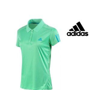 Adidas® Polo Desportivo Verde | Tecnologia Climacool®