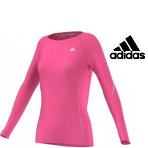 Adidas® Camisola de Treino Rosa | Tecnologia Climalite®