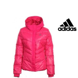 Adidas® Casaco de Penas Rosa   Tecnologia Climaproof®