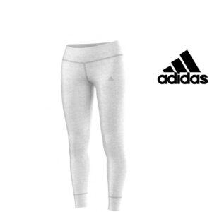 Adidas® Calças de Treino Tight Cinzentas | Tecnologia Climalite®