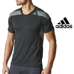 Adidas® T-Shirt De Treino Techfit Preta | Tecnologia Climacool®