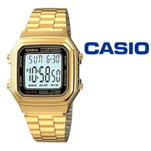 Relógio Casio® 178WGA-1ADF Dourado
