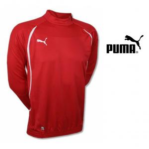 Puma® Camisola com Fecho Vermelha