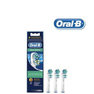 3 Recargas Para Escovas Oral-B Dual Clean