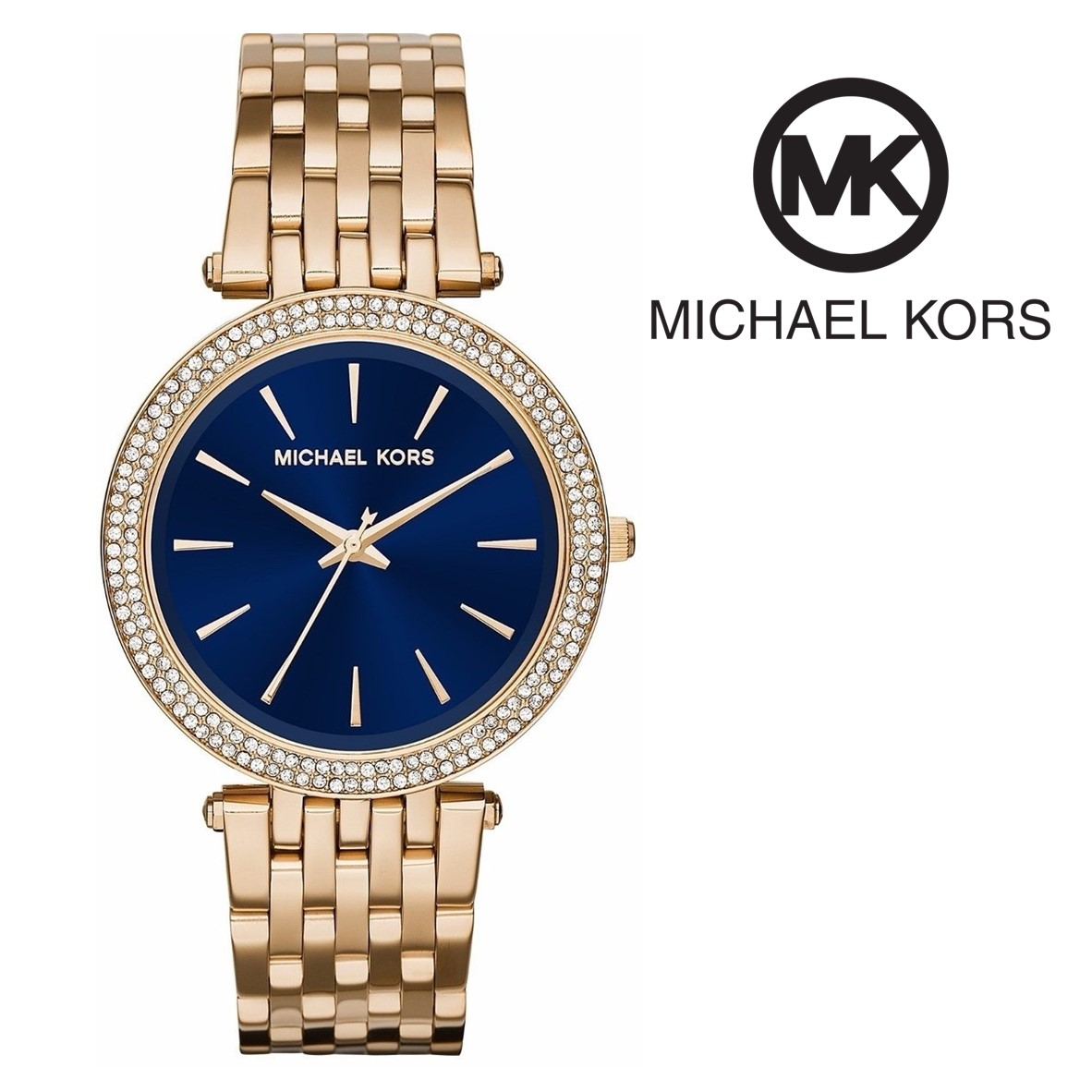 Relógio Michael Kors® Darci Blue   5ATM - You Like It 16722f42ab