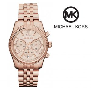 Relógio Michael Kors® Lexington Rose Gold | Cronógrafo | 5ATM