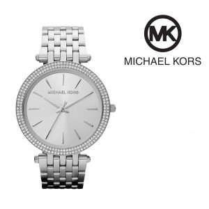 Relógio Michael Kors® Darci Glitz Prateado I 5ATM
