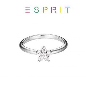 Esprit® Anel Estrela de Prata com Brilhantes | 17mm