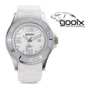 Relógio Gooix® Kimba Branco I 10ATM