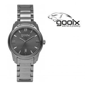 Relógio Gooix® Dabora Cinza | 5ATM