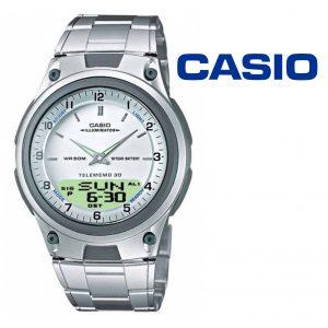 Relógio Casio® AW-80D-7A Prateado