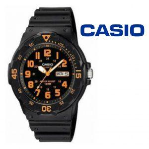 Relógio Casio® MRW-200H Laranja
