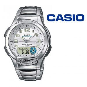 Relógio Casio® AQ-180WD-7B Prateado