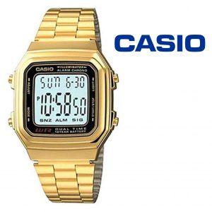 Relógio Casio® 178WGA-1A Dourado