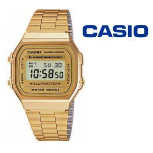 Relógio Casio® 168WG-9EF Dourado