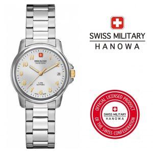 Relógio Swiss Military® Hanowa Hedef Silver