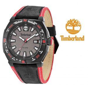 Relógio Timberland® Rindge Preto | Vermelho | 10ATM