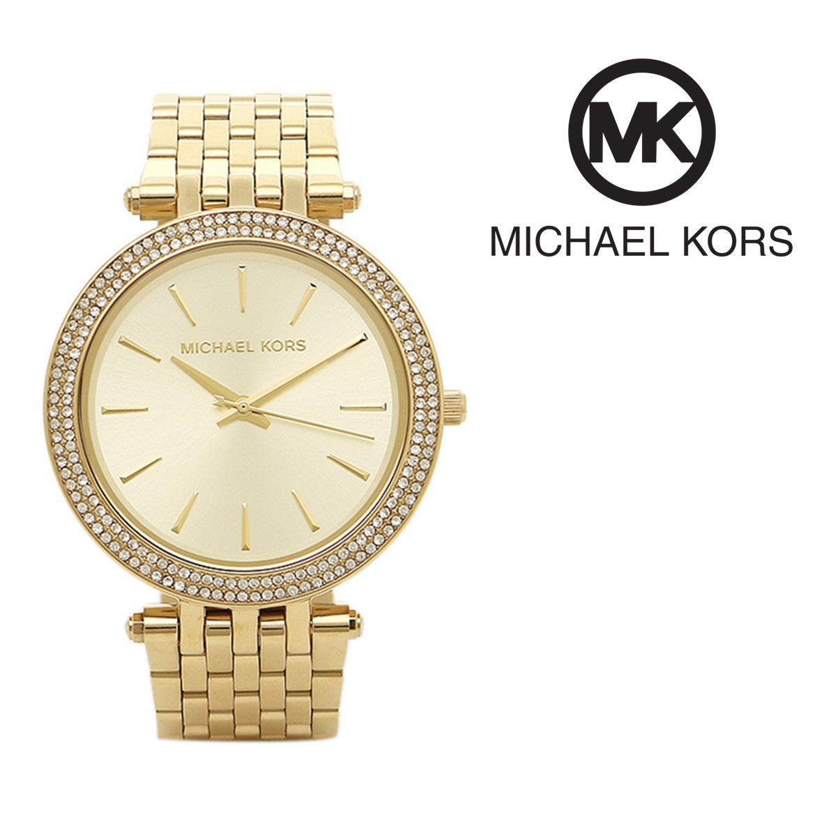 Relógio Michael Kors® Darci Glitz Dourado   5ATM - You Like It 23c823ad3e