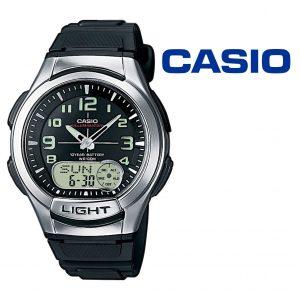 Relógio Casio® AQ-180W-1B Preto