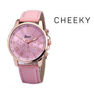 Relógio Cheeky Rosa Escuro I Movimento Seiko