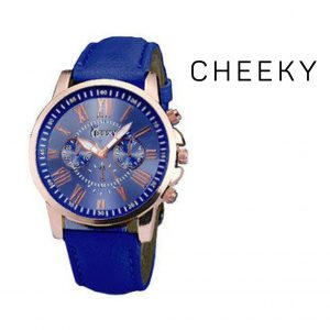 Relógio Cheeky Dark Blue I Movimento Seiko