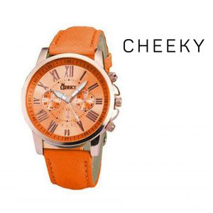 Relógio Cheeky  Orange I Movimento Seiko