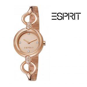 Relógio Esprit® Conjunto Naomi Rose Gold | Pulseira AJÚSTAVEL Com Banho de Ouro Rosa
