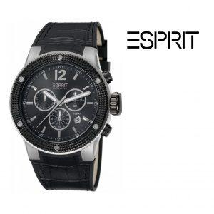 Relógio Esprit® Anteros | Black Chronograph | 10ATM