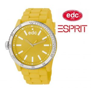 Relógio EDC by Esprit® Rubber Starlet Happy Yellow | 3ATM