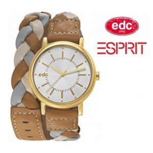 Relógio EDC by Esprit® Glamorous Gold Brown | 3ATM