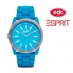 Relógio EDC by Esprit® Rubber Starlet Cool Turquoise | 3ATM