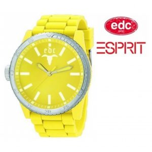 Relógio EDC by Esprit® Rubber Star Yellow | 3ATM
