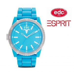 Relógio EDC by Esprit® Rubber Star Cool Turquoise | 3ATM