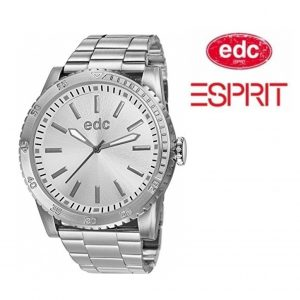 Relógio EDC by Esprit® Metal Star Cool Silver | 3ATM
