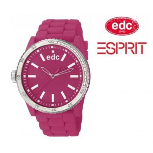 Relógio EDC by Esprit® Rubber Starlet Hot Pink | 3ATM