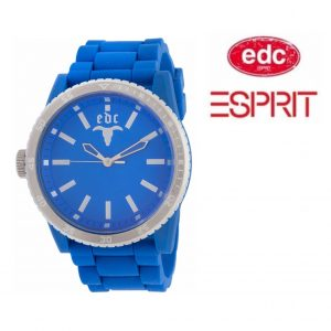 Relógio EDC by Esprit® Rubber Star Horizon Blue | 3ATM