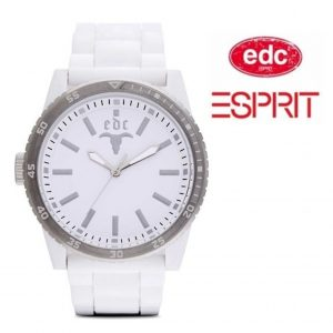 Relógio EDC by Esprit® Star Pure White Silver | 3ATM