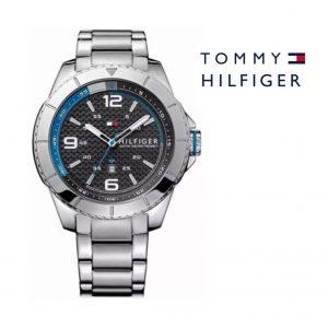 Tommy Hilfiger® Relógio Black Carbon Fiber | 5ATM