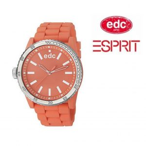 Relógio EDC by Esprit® Rubber Starlet Light Salmon | 3ATM
