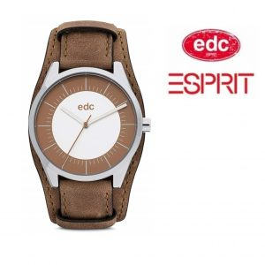 Relógio EDC by Esprit® Cuff Sunrise Tobacco Brown | 3ATM