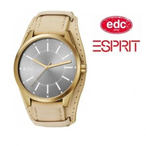 Relógio EDC by Esprit® Cuff Sunrise Chic Warm Gray | Gold | 3ATM