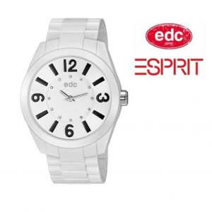 Relógio EDC by Esprit® Rising Sun Disco White Black | 3ATM