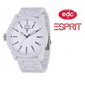 Relógio EDC by Esprit® Military Star White | 3ATM