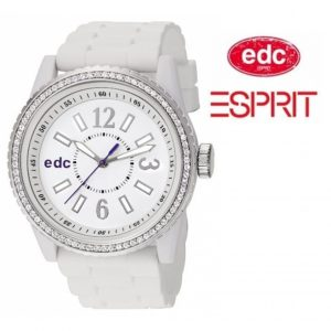 Relógio EDC by Esprit® Disco Glam Envy Pure White | 3ATM