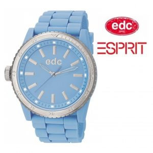 Relógio EDC by Esprit® Rubber Starlet Frosty Blue | 3ATM