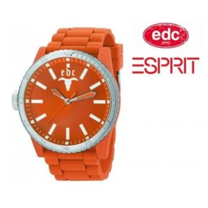 Relógio EDC by Esprit® Rubber Star Orange | 3ATM