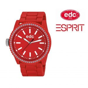 Relógio EDC by Esprit® Military Stone Starlet Flashy Red | 3ATM