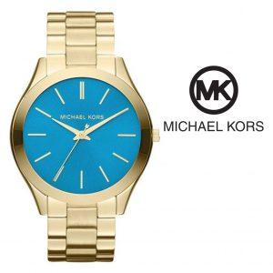 Watch Michael Kors® Slim Runway Gold & Blue