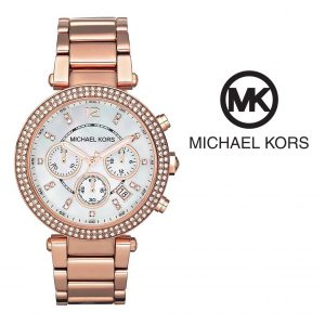 Relógio Michael Kors® Parker Chronograph Rose Gold Tone