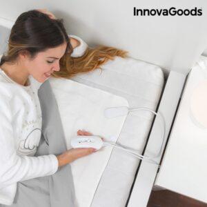 Aquecedor de Camas Eléctrico InnovaGoods Home Climate 80 x 150 cm - Esqueça o Frio Quando está na Cama !